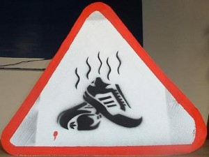Smelly Soccer Cleats