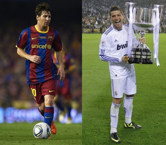The biggest battle of course will be the Messi vs Ronaldo battle ...