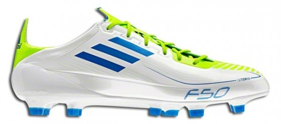 Synthetic F50 adizero White Anodized Blue
