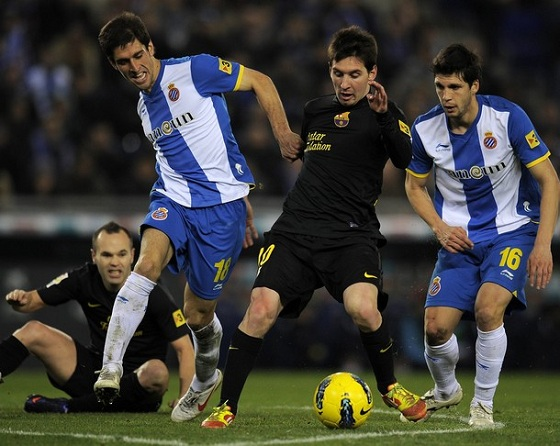 Messi Wearing adiZero