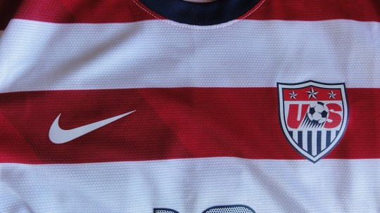 US Home Jersey Front