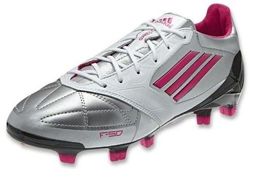 Silver Pink F50 adiZero