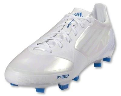 Whiteout Adidas F50 adiZero