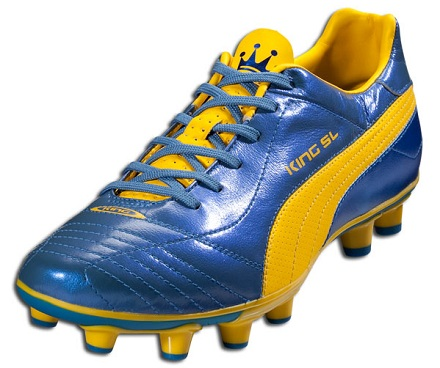 Puma King SL Blue Yellow