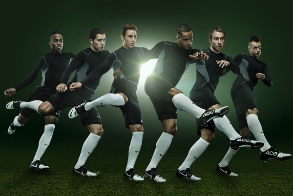 Wearing Nike Green Speed
