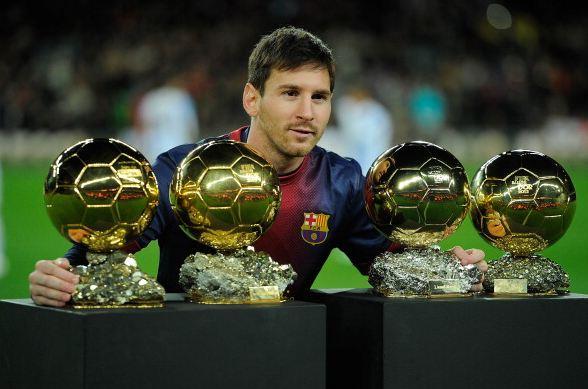 Awards Messi