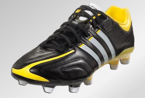 adiPure Black Yellow