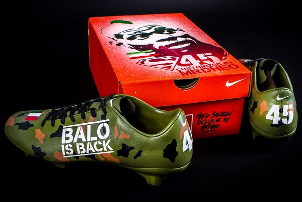 Balotelli Boots Mr Dheo