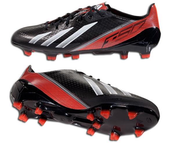 Black and Red F50 adiZero
