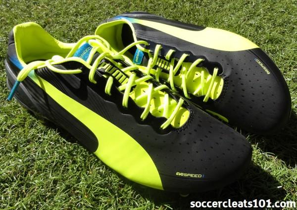 New Puma evoSPEED 1.2 Soccer Cleats