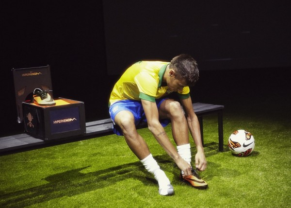 Neymar Putting Hypervenom on