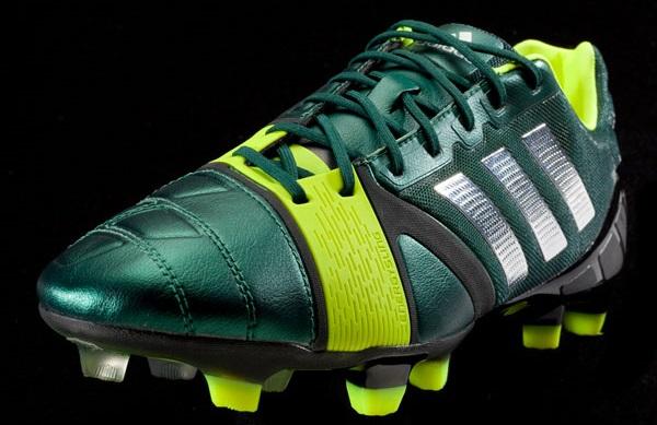 Adidas Nitrocharge Green detailing