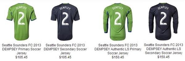 Dempsey Jerseys