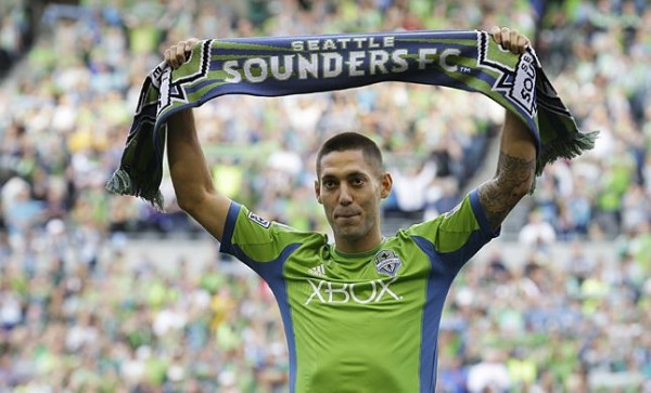 Dempsey at Sounders