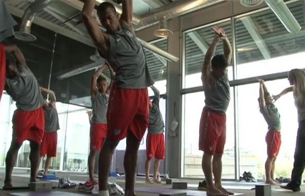 US Soccer Yoga