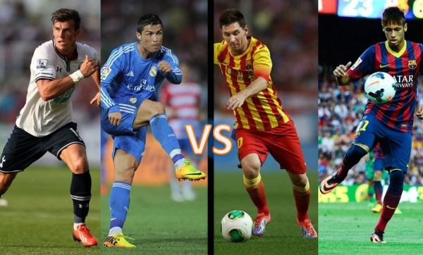 Brand Battle Bale Ronaldo Messi Neymar