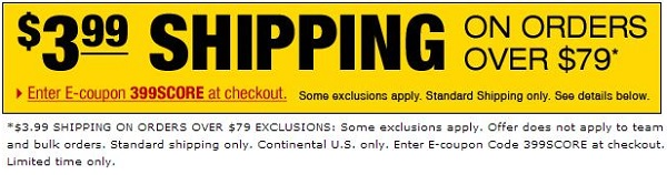 SoccerSavings Shipping