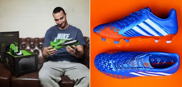 Zlatan New Boots and Predator LZ