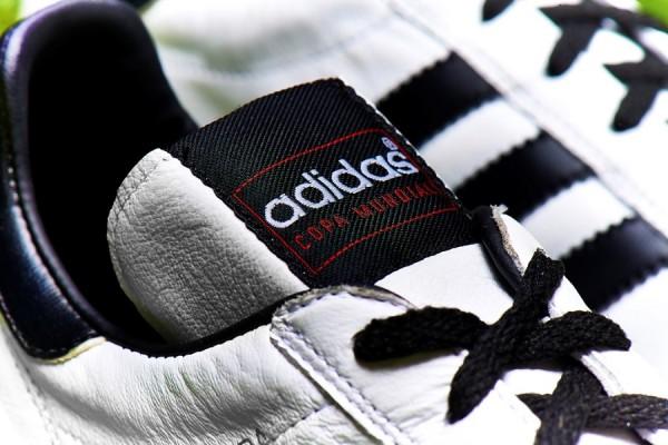 adidas Copa Mundial in White Detailing