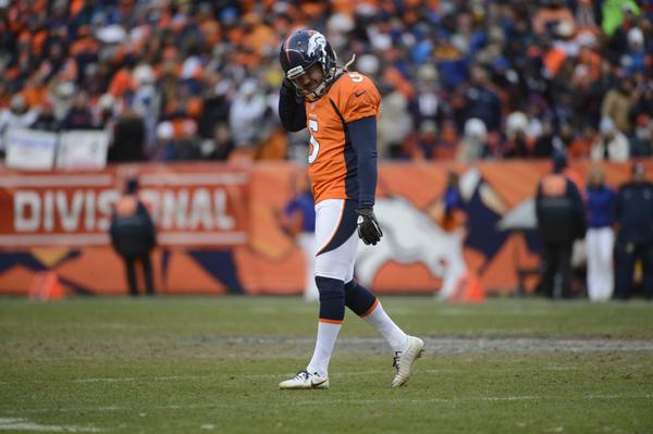 The Denver Broncos vs Baltimore Ravens AFC Divisional playoff game.