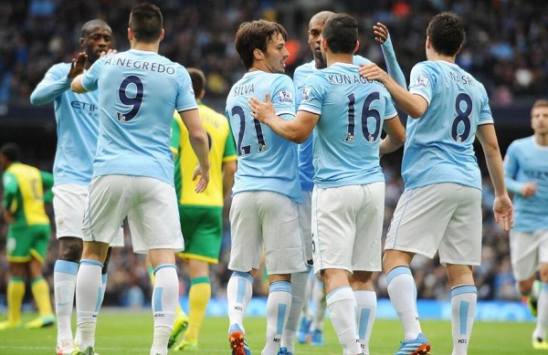 Man City Win 7-0