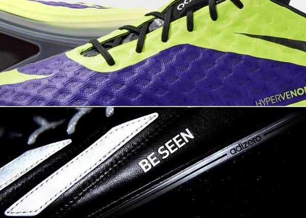 Nike Hi-Vis vs Adidas Enlightened