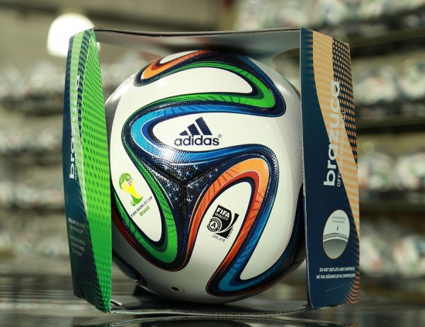 Adidas Brazuca Ball Packaged