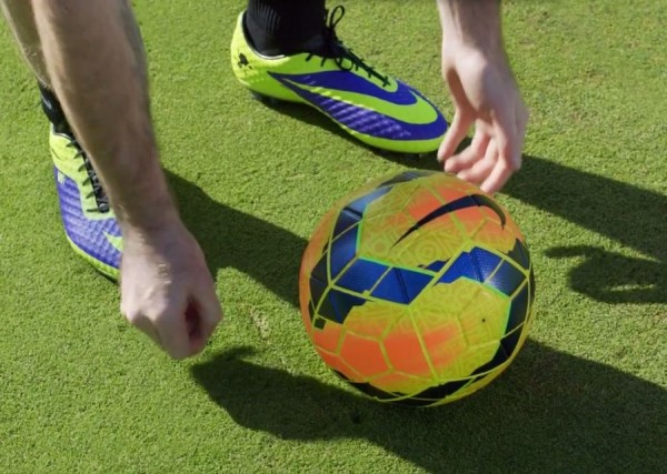Rooney with Nike Ordem