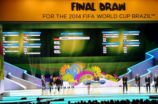 World Cup 2014 Draw