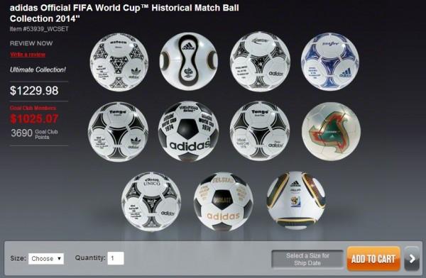 World Cup Ball Set