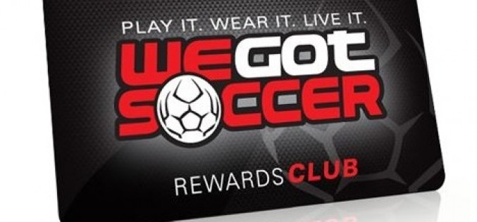 Get into the WeGotSoccer Rewards Program For Free!