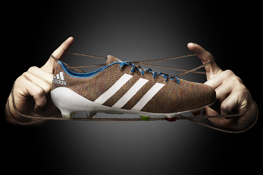 sale retailer 332ab 27840 ... Suarez Samba Primeknit FG Football Boots Cleats brown white blue adidas  Samba Primeknit - World s First Knitted Soccer Boot Soccer Cleats ...