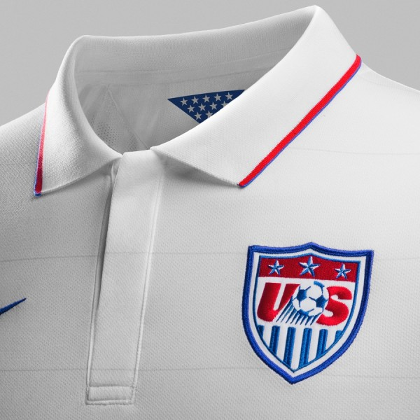 2014 USMNT Jersey with Collar