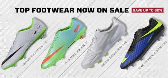 Need New Boots? Up To 60% Off at Soccer.com
