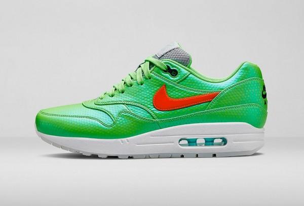 Bright green air max