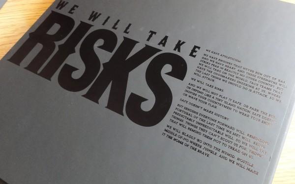 Nike We Will Take Risks