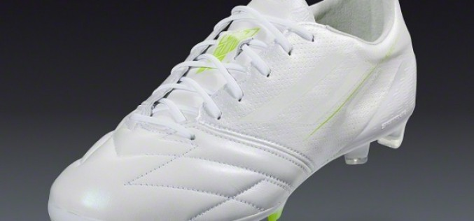 "Adidas Take the adiZero F50 to ""Whiteout"" Mode"