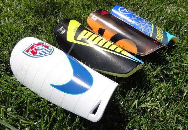 Soccer Shinguards Tested