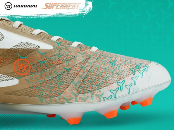 Warrior Superheat White and Gold