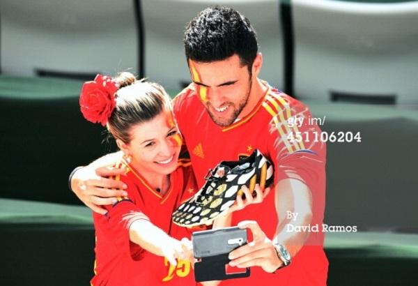 Casillas Fans with Boots