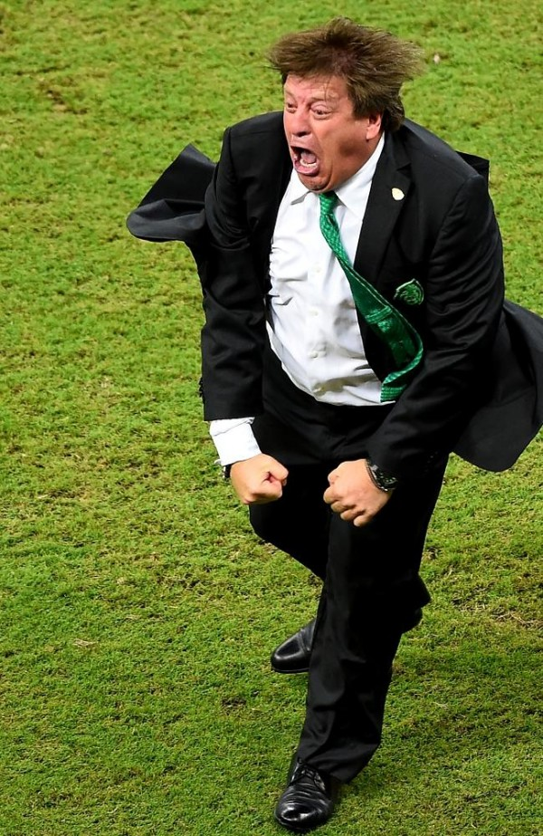 Here's Mexico manager Miguel Hererra, does he feature in this weeks column...Nope!