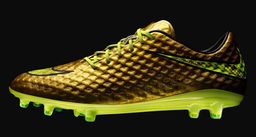 Nike Release Exclusive Gold Hypervenom For Neymar | Soccer ...