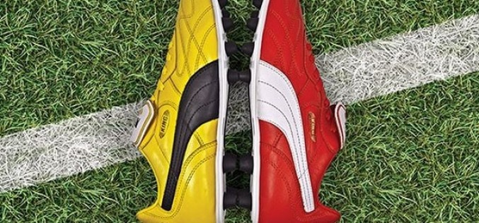 Limited Edition Puma King Top 98 – One Yellow, One Red