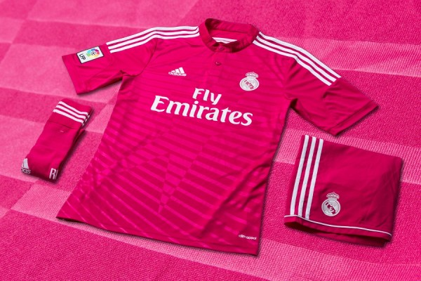 Real Madrid Pink Away Jersey