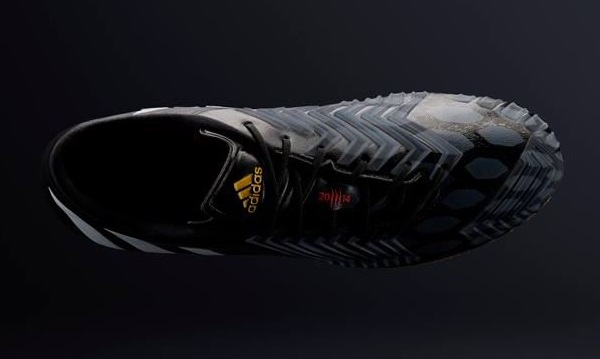 Adidas Predator Instinct Core Black Upper View