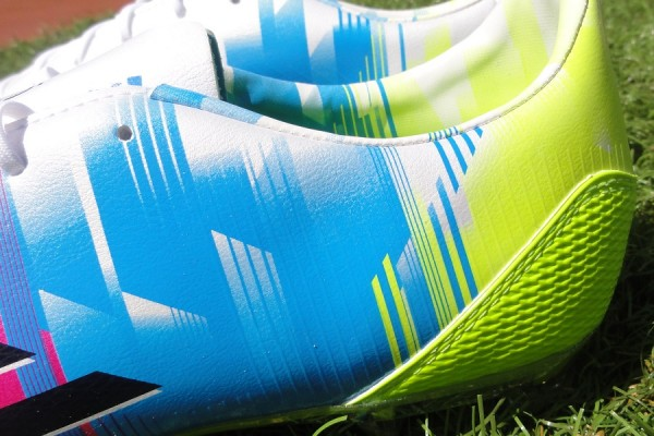 Messi f30 Heel Design