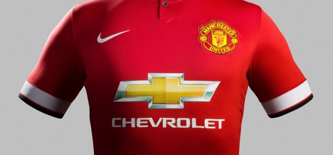 Manchester United Release 2014/15 Home Jersey