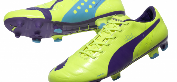 Puma evoPOWER Released in Yellow and Purple Colorway