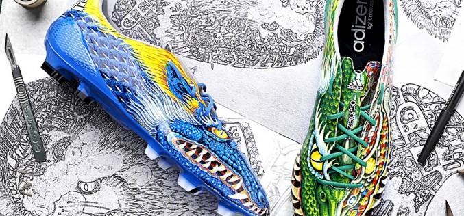 "Custom ""Dragon Style"" Yamamoto adiZero f50 Released!"