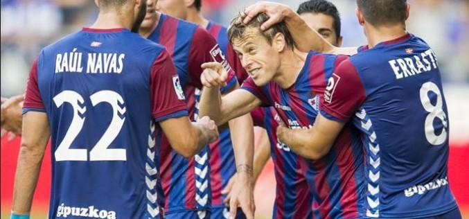 Eibar stuns Real Sociedad in La Liga